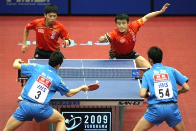 2009 World Championships - Mens Doubles Finalists